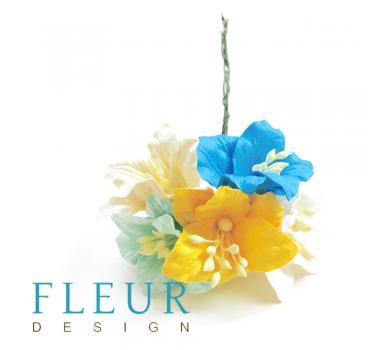Цветы Лилии Микс весенних оттенков,  FD3031620