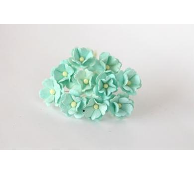 Цветочки Вишни средние, цвет мятный, KA421103