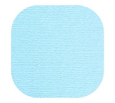 Кардсток текстурированный, цвет лагуна, 30.5х30.5 см, 235 гр/м, арт. BO-34