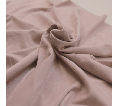 Искусственная замша двусторонняя, цвет розово-персиковый, арт. 411614