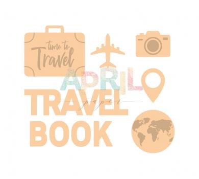 Деревянный чипборд TRAVEL more, travel-015-04