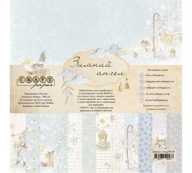 Набор бумаги Зимний ангел, wang100-09