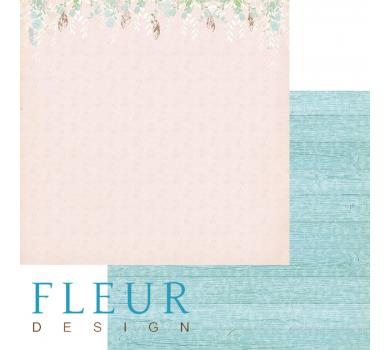 Лист бумаги для скрапбукинга В саду, коллекция Зарисовки весны, арт. FD1003609