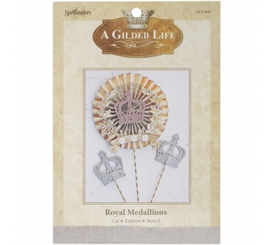 Нож для вырубки Royal Medallions - Gilded Life Die, GLD-009
