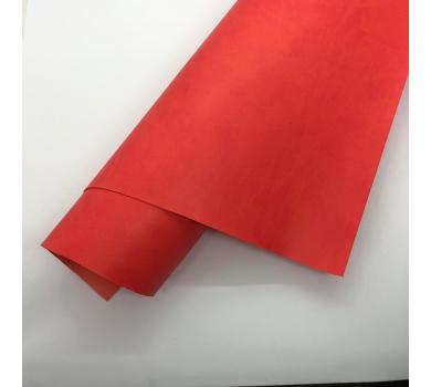 Кожзам (экокожа) на полиуретановой основе, цвет коралловый, арт. SC410072
