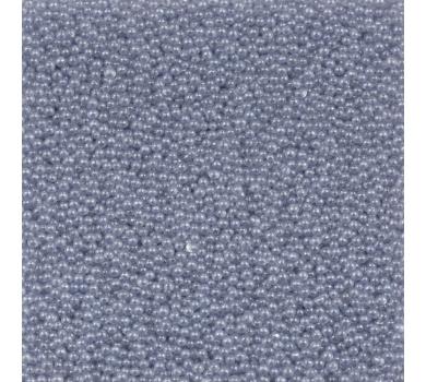 Микробисер Zlatka, серо-голубой, 0,6-0,8мм, 10г, PGA-02-3