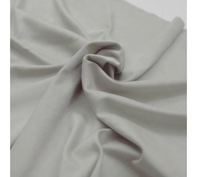 Искусственная замша двусторонняя, цвет серый (теплый), арт. 411621