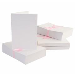 Заготовка для открытки с конвертом, цвет белый, арт. ANT1511000