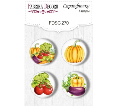Набор фишек для скрапбукинга Soul Kitchen, FDSC-270