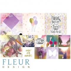 Набор карточек Pretty violet, FD1117011