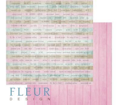 Лист бумаги для скрапбукинга Тэги летнего сада, коллекция Летний сад, арт. FD1004312