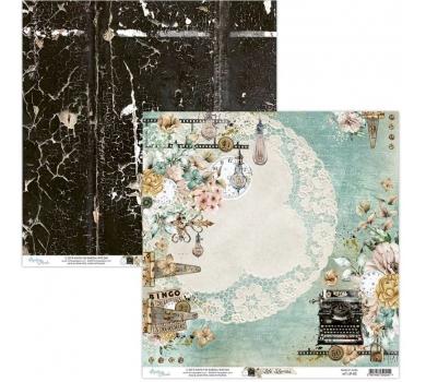 Бумага двусторонняя для скрапбукинга Life stories by Mintaypapers, арт. MT-LIF-02