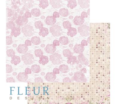 Лист бумаги для скрапбукинга Воздушный, коллекция Летний сад, FD1004302