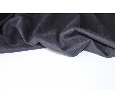 Искусственная замша двусторонняя, цвет графит, арт. 411606