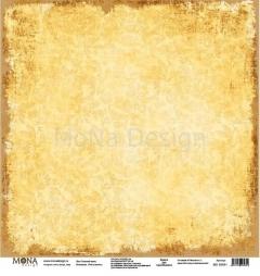 Лист бумаги для скрапбукинга Осенний вальс, коллекция Учат в школе, 95651