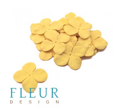 Гортензия средняя Желтая, размер цветка 3,5 см, 20 шт/упаковка FD3058401