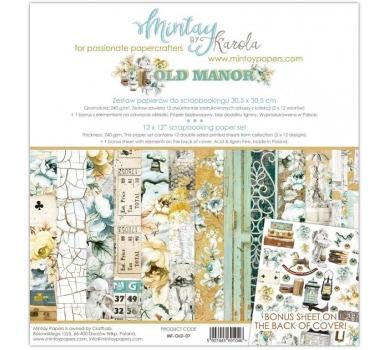 Набор бумаги для скрапбукинга Old Manor, арт. MT-OLD-071