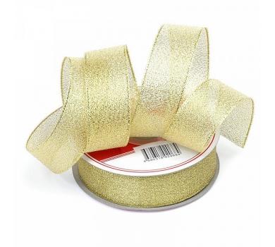 Лента парчовая, цвет золото, арт. 0684-25