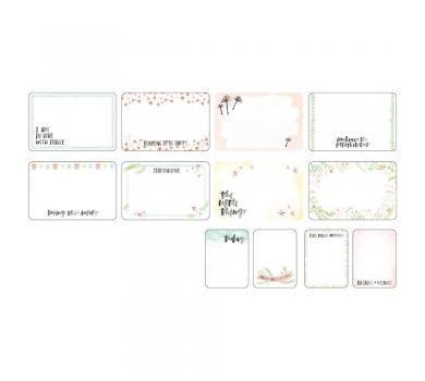 Набор пленок (оверлей) HIGH FIVE для Project life 12 шт, American Crafts, арт. 380430
