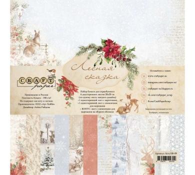 Набор бумаги Лесная сказка, fairy100-09