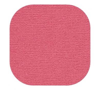 Кардсток текстурированный, цвет алый, 30.5х30.5 см, 235 гр/м, арт. BO-05