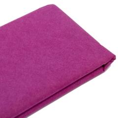 Бумага упаковочная тишью, цвет сливовый, 50 см х 76 см, арт. 9233