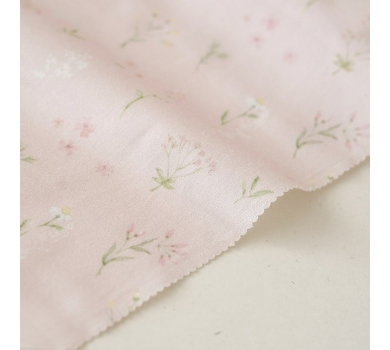 Отрез ткани Forest story Розовый луг, арт. IMD-002-01