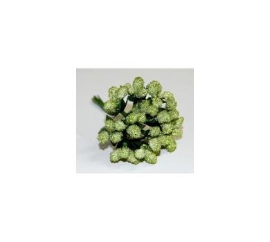 Декоративный букетик зеленый, DKB030C