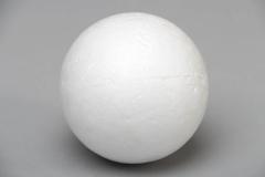 Заготовка для декорирования Ёлочный шар, пенопласт, d 8см, NG11576371