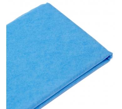 Бумага упаковочная тишью, цвет темно-голубой, 50 см х 76 см, арт. 1792