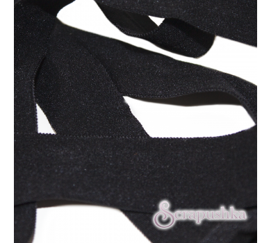 Бейка-стрейч черная, KA108001