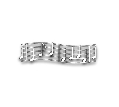 Нож для вырубки Virtuoso Music, арт. MB98356