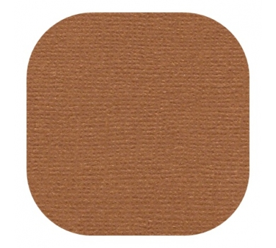 Кардсток текстурированный, цвет шоколадный, 30.5х30.5 см, 235 гр/м, арт. BO-02