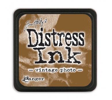 Штемпельная мини-подушечка Tim Holtz Distress Mini Ink Pads на водной основе, цвет винтажное фото, арт. RI40262