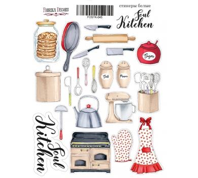 Набор наклеек (стикеров) Soul Kitchen-2, 21x16 см, FDSTK-045