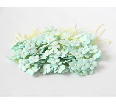 Цветочки Яблони мини, цвет мятный, KA441103