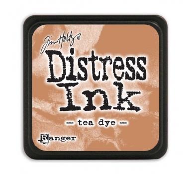 Штемпельная мини-подушечка Tim Holtz Distress Mini Ink Pads на водной основе, цвет чайный, арт. RI40231