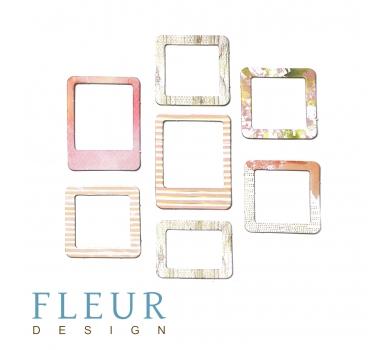 Набор рамочек Розовый рассвет коллекция Pretty Pink, FD2076804