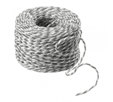 Шнур бело-серый Винтер 2017, 21543