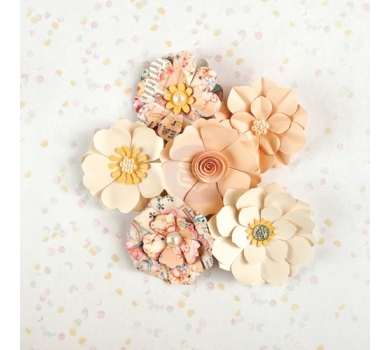 Набор бумажных цветочков Aurora, коллекция Heaven Sent, 588427