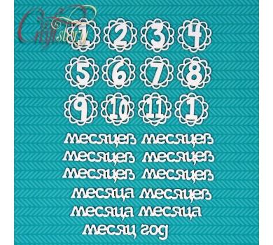 Чипборд Детский возраст, арт. 502018