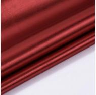 Кожзам с эффектом металлик, цвет красный, KA410403