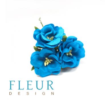 Цветы Дикие Розы бирюзовый, FD3123266