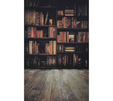 Фотофон виниловый стена+пол Библиотека, 2778336