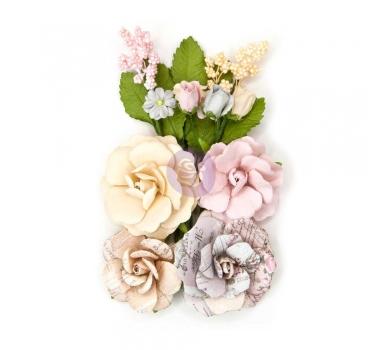 Набор бумажных цветов Lavender, 9шт., 631178