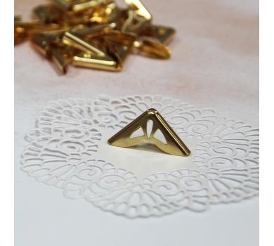 Металлический уголок, цвет золото, 1 шт., AL0405171