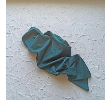 Искусственная замша двусторонняя, цвет темно-бирюзовый, арт. 401625