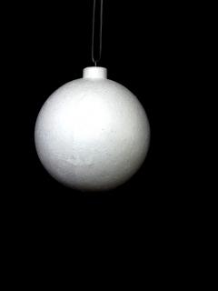 Заготовка для декорирования с подвесом Ёлочный шар, NG11571410