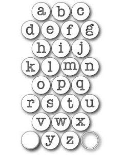 Нож для вырубки Contour Typewriter Keys, Memory Box , 2.3 cm.,  99170