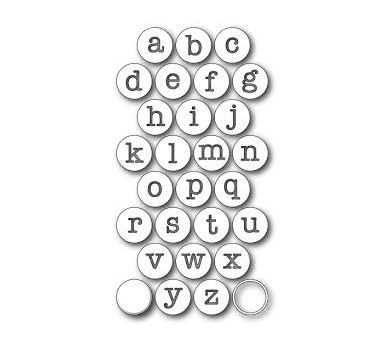 Нож для вырубки Contour Typewriter Keys, Memory Box , 2.3 cm.,  99170